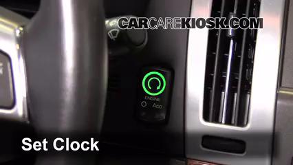 2011 Cadillac STS 3.6L V6 Horloge