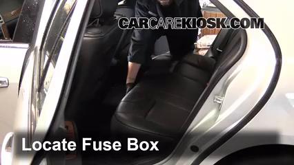 2011 Cadillac STS 3.6L V6 Fusible (intérieur)