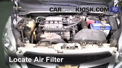 2011 Chevrolet Beat Campus 1.0L 4 Cyl. Filtre à air (moteur)