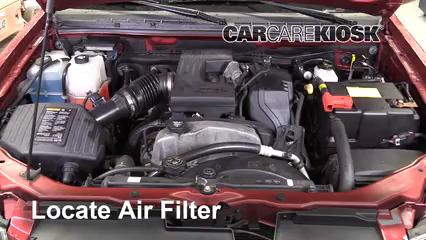 2011 Chevrolet Colorado LT 3.7L 5 Cyl. Crew Cab Pickup Filtre à air (moteur)