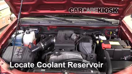 2011 Chevrolet Colorado LT 3.7L 5 Cyl. Crew Cab Pickup Antigel (Liquide de Refroidissement)