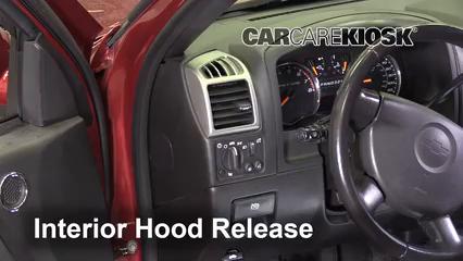 2011 Chevrolet Colorado LT 3.7L 5 Cyl. Crew Cab Pickup Capot