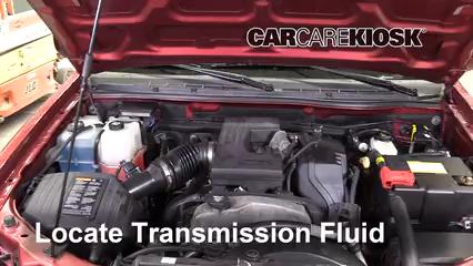 2011 Chevrolet Colorado LT 3.7L 5 Cyl. Crew Cab Pickup Liquide de transmission