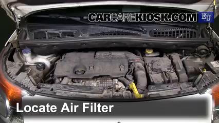 2011 Citroen C3 Picasso e-HDI Airdream 1.6L 4 Cyl. Turbo Diesel Filtro de aire (motor)