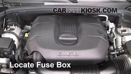 replace a fuse: 2011-2019 dodge durango - 2011 dodge durango crew 3.6l v6  flexfuel  carcarekiosk