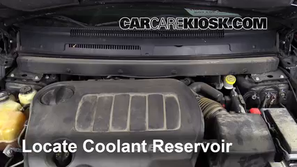 2011 Dodge Journey Mainstreet 3.6L V6 FlexFuel Coolant (Antifreeze) Check Coolant Level