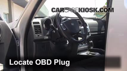 2011 Dodge Nitro Heat 3.7L V6 Compruebe la luz del motor