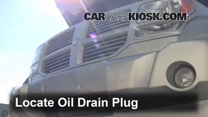 2011 Dodge Nitro Heat 3.7L V6 Oil Change Oil and Oil Filter