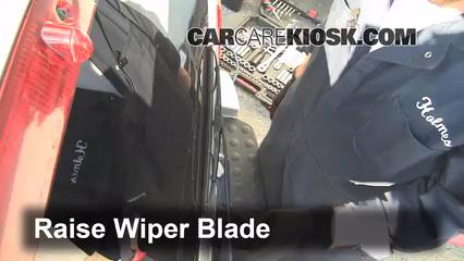 2011 Dodge Nitro Heat 3.7L V6 Escobillas de limpiaparabrisas trasero