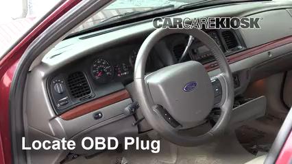 2011 Ford Crown Victoria LX 4.6L V8 FlexFuel Lumière « Check engine » du moteur