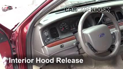 2011 Ford Crown Victoria LX 4.6L V8 FlexFuel Capot
