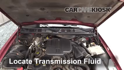2011 Ford Crown Victoria LX 4.6L V8 FlexFuel Transmission Fluid Fix Leaks