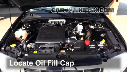 2011 Ford Escape XLT 3.0L V6 FlexFuel Aceite