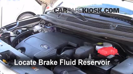 2011 Ford Explorer XLT 3.5L V6 Brake Fluid Add Fluid