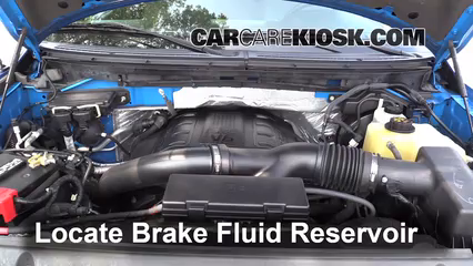 2011 Ford F-150 XLT 3.5L V6 Turbo Crew Cab Pickup Brake Fluid
