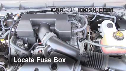2011 Ford F-250 Super Duty XLT 6.2L V8 FlexFuel Standard Cab Pickup Fusible (moteur) Remplacement