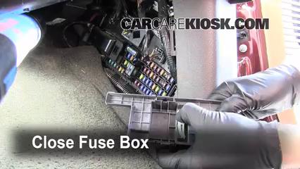Interior Fuse Box Location 2008 2016 Ford F 250 Super Duty 2011 Ford F 250 Super Duty Xlt 6 2l V8 Flexfuel Standard Cab Pickup