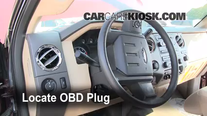 2011 Ford F-250 Super Duty XLT 6.2L V8 FlexFuel Standard Cab Pickup Lumière « Check engine » du moteur