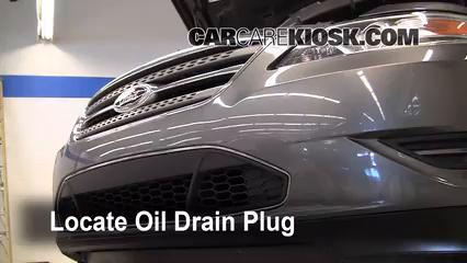 2011 Ford Taurus SEL 3.5L V6 Aceite Cambiar aceite y filtro de aceite