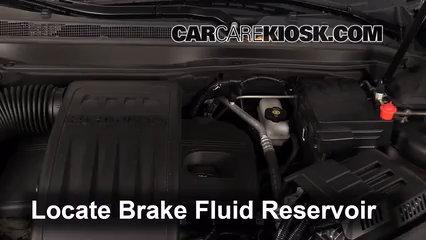 2011 GMC Terrain SLT 2.4L 4 Cyl. Brake Fluid