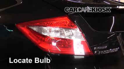 2011 Honda Accord Crosstour EX-L 3.5L V6 Luces Luz de reversa (reemplazar foco)