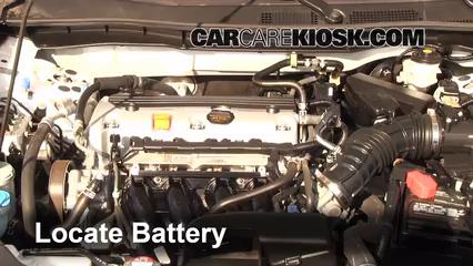 2011 Honda Accord LX 2.4L 4 Cyl. Batterie