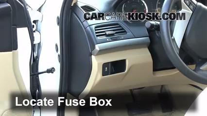 2011 Honda Accord LX 2.4L 4 Cyl. Fusible (interior)
