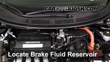 2011 Honda CR-Z EX 1.5L 4 Cyl. Liquide de frein