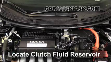 2011 Honda CR-Z EX 1.5L 4 Cyl. Liquide de transmission