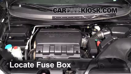 Replace A Fuse 2011 2017 Honda Odyssey 2011 Honda Odyssey Ex L 3 5l V6