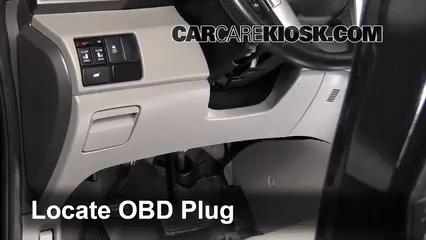 2011 Honda Odyssey EX-L 3.5L V6 Compruebe la luz del motor