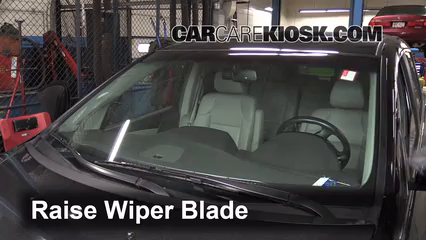 2011 Honda Odyssey EX-L 3.5L V6 Escobillas de limpiaparabrisas delantero