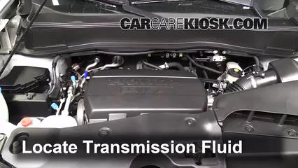 2011 Honda Pilot EX-L 3.5L V6 Líquido de transmisión Controlar nivel de líquido