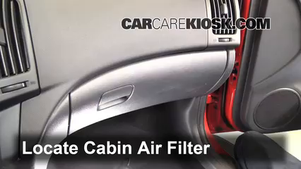 2011 Hyundai Elantra Touring GLS 2.0L 4 Cyl. Filtre à air (intérieur)