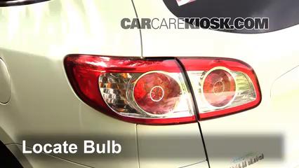 2011 Hyundai Santa Fe GLS 2.4L 4 Cyl. Lights