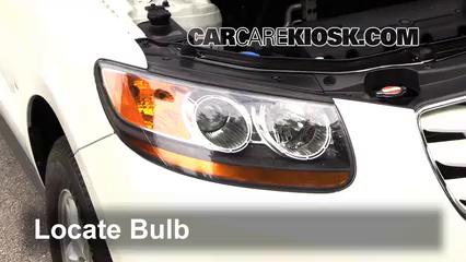 2011 Hyundai Santa Fe GLS 2.4L 4 Cyl. Luces Luz de marcha diurna (reemplazar foco)