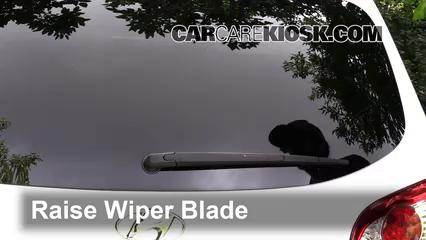 2011 Hyundai Santa Fe GLS 2.4L 4 Cyl. Windshield Wiper Blade (Rear)