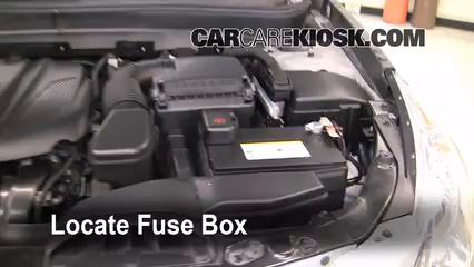 2011 Hyundai Sonata GLS 2.4L 4 Cyl. Fusible (motor) Control