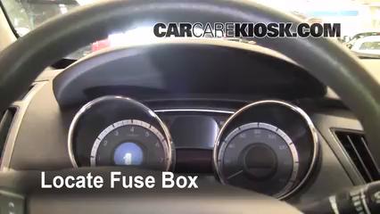 2011 Hyundai Sonata GLS 2.4L 4 Cyl. Fusible (intérieur)
