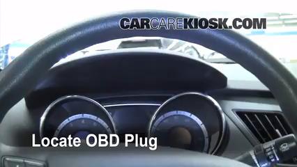 2011 Hyundai Sonata GLS 2.4L 4 Cyl. Lumière « Check engine » du moteur