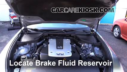 2011 Infiniti M37 X 3.7L V6 Brake Fluid