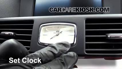 2011 Infiniti M37 X 3.7L V6 Clock