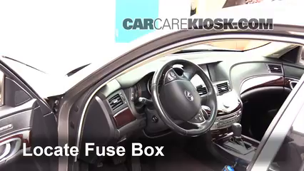 2011 Infiniti M37 X 3.7L V6 Fuse (Interior)