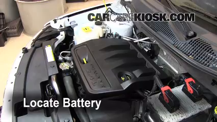 2011 Jeep Compass 2.4L 4 Cyl. Battery Replace