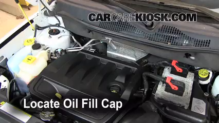2011 Jeep Compass 2.4L 4 Cyl. Oil Add Oil
