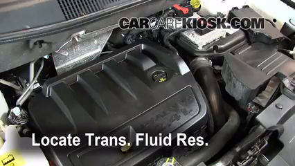 2019 Jeep Compass Limited 2.4L 4 Cyl. Transmission Fluid