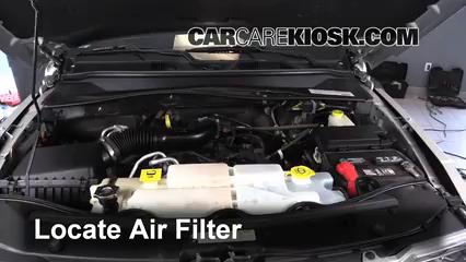 2011 Jeep Liberty Sport 3.7L V6 Filtro de aire (motor) Control