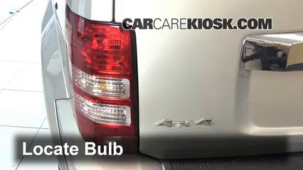 2011 Jeep Liberty Sport 3.7L V6 Lights Brake Light (replace bulb)