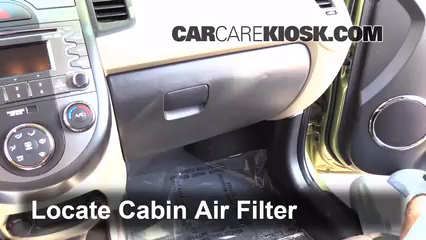 2011 Kia Soul Plus 2.0L 4 Cyl. Air Filter (Cabin)