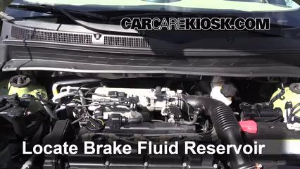 2011 Kia Soul Plus 2.0L 4 Cyl. Brake Fluid